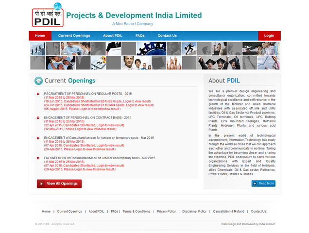 Projects and Development India Limited
