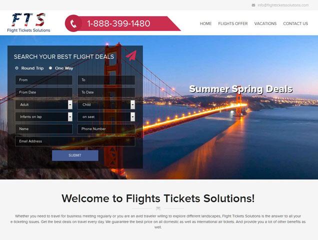Flight Tickets Solution