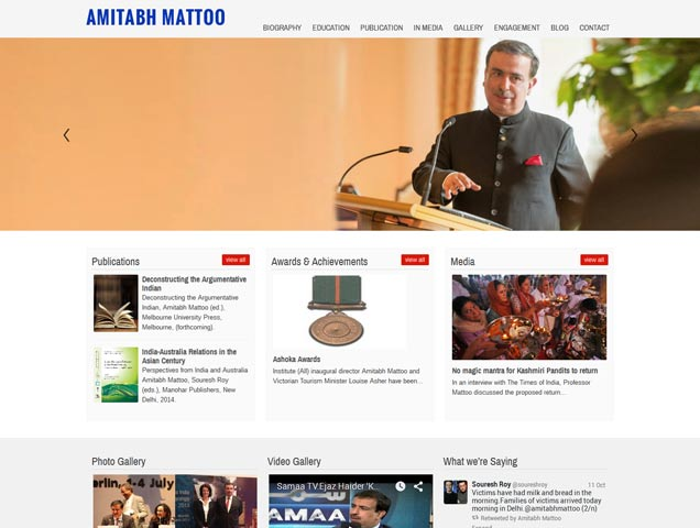 Amitabh Mattoo