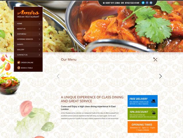 Amirs Indian Restaurant
