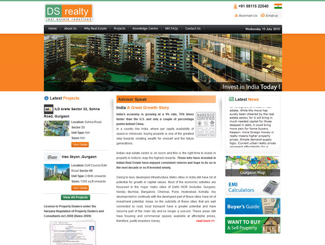 DS Realty India
