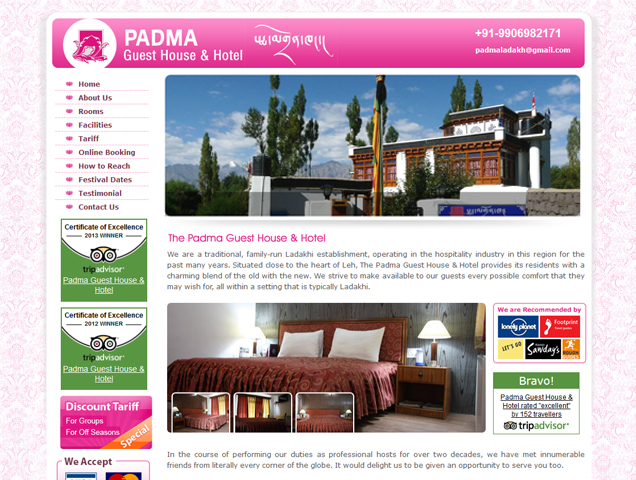 Padma Guest House & Hotels