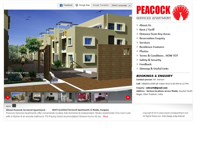 Peacock Serviced Apartment