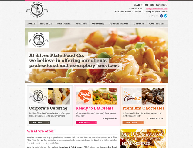 Silver Plate Food Company