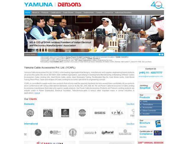 Yamuna Cable Accessories (P) Ltd.