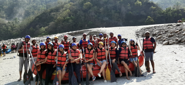 Adventure at Rishikesh 2019