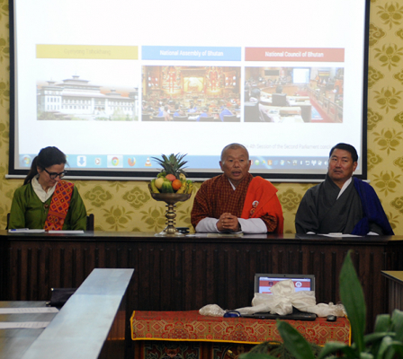 Website launch of National Assembly of Bhutan