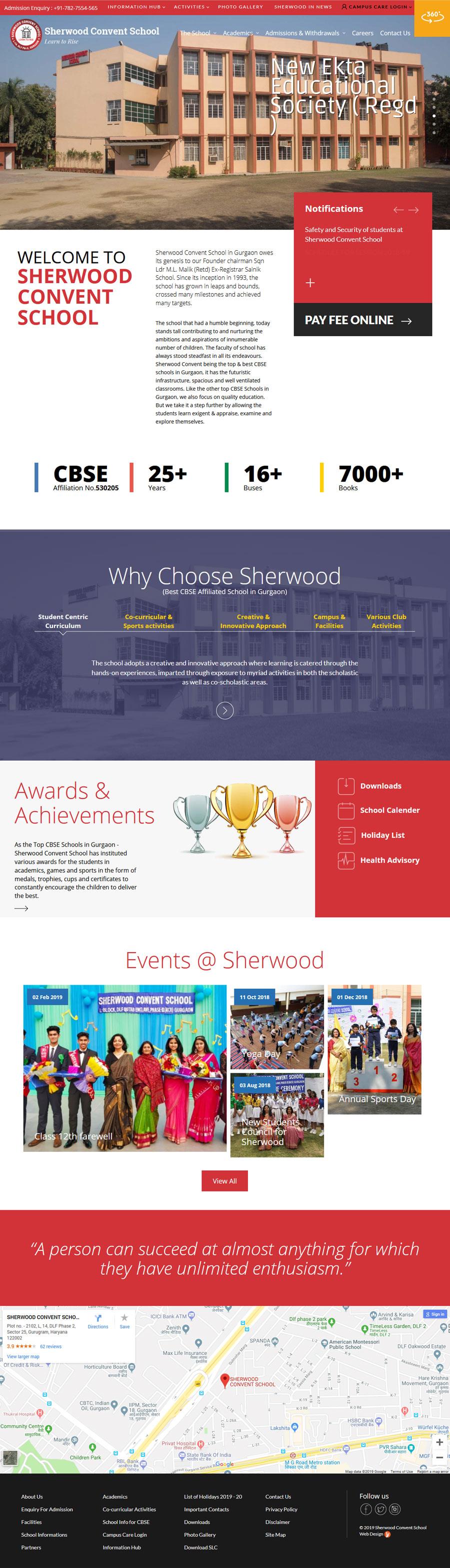 Sherwood Convent School