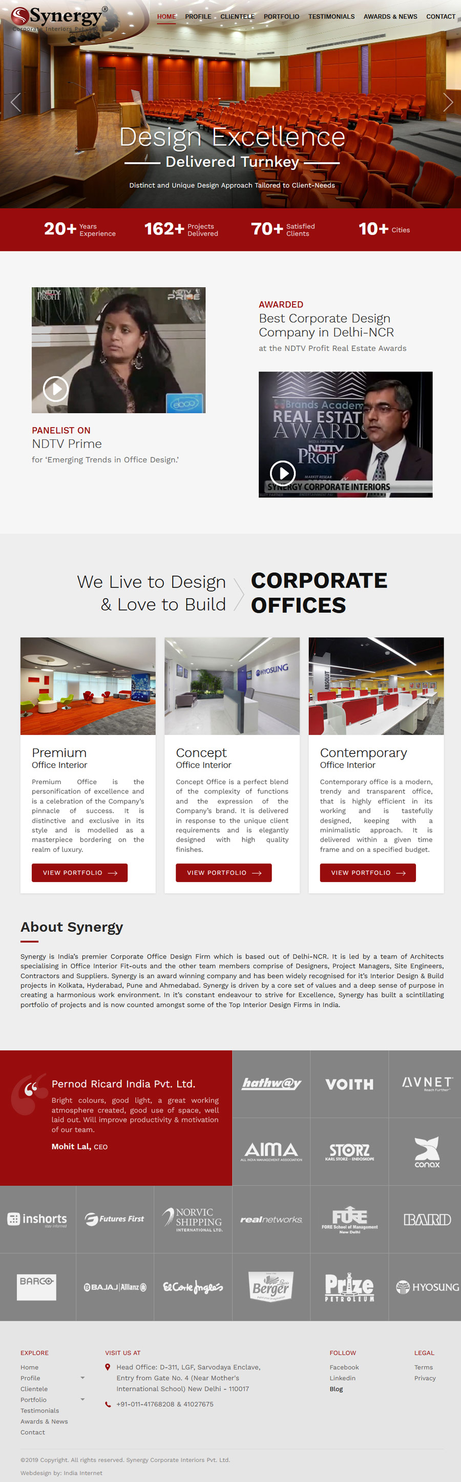Synergy Corporate Interiors
