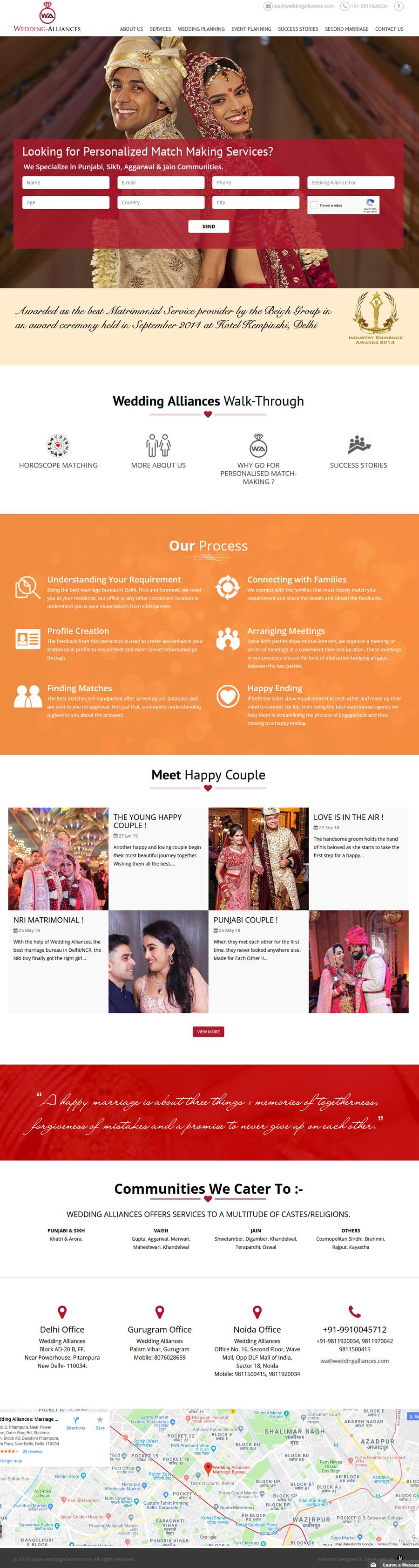 Wedding Alliances