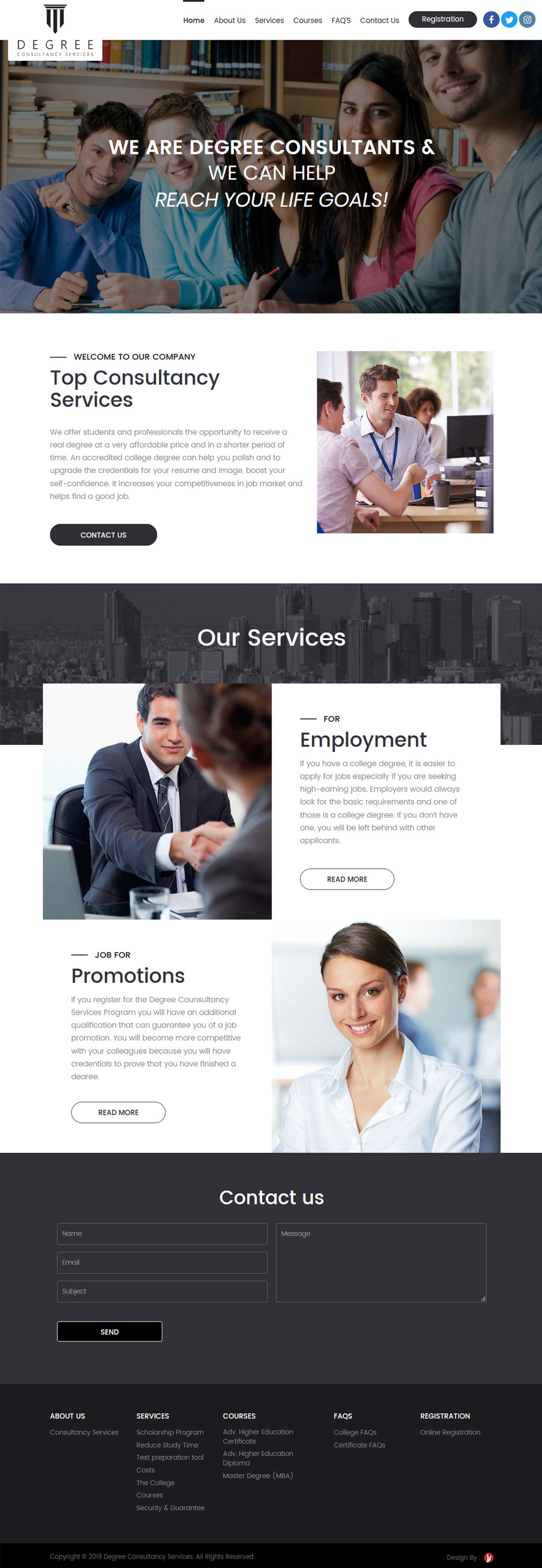 Degree Consultancy Services