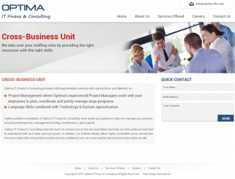 Cross - Business Unit page view