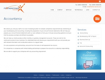 Accountancy page view