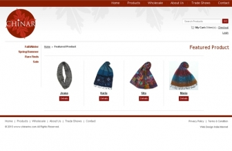 Featured Product page view