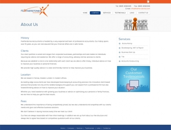 About Us page view