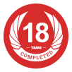 Completed 16 Years
