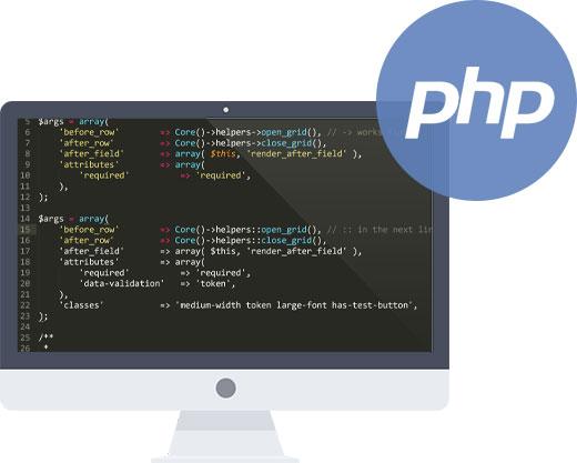 PHP Web Development Company in Delhi, PHP Website Development